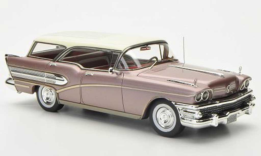 Buick Century 1/43 Neo Caballero ros? 1958 miniature