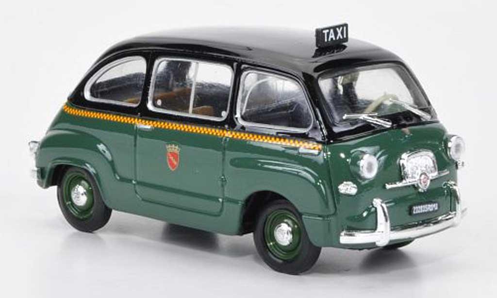 fiat 600 multipla taxi rom 1956 brumm modellauto 1 43 kaufen verkauf modellauto online. Black Bedroom Furniture Sets. Home Design Ideas