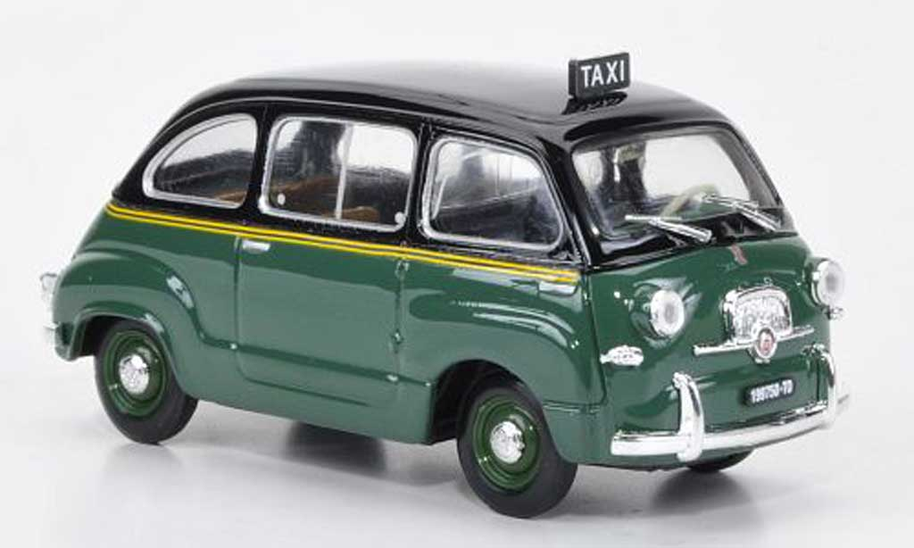 Fiat 600 1/43 Brumm Multipla Taxi Torino 1956 miniature