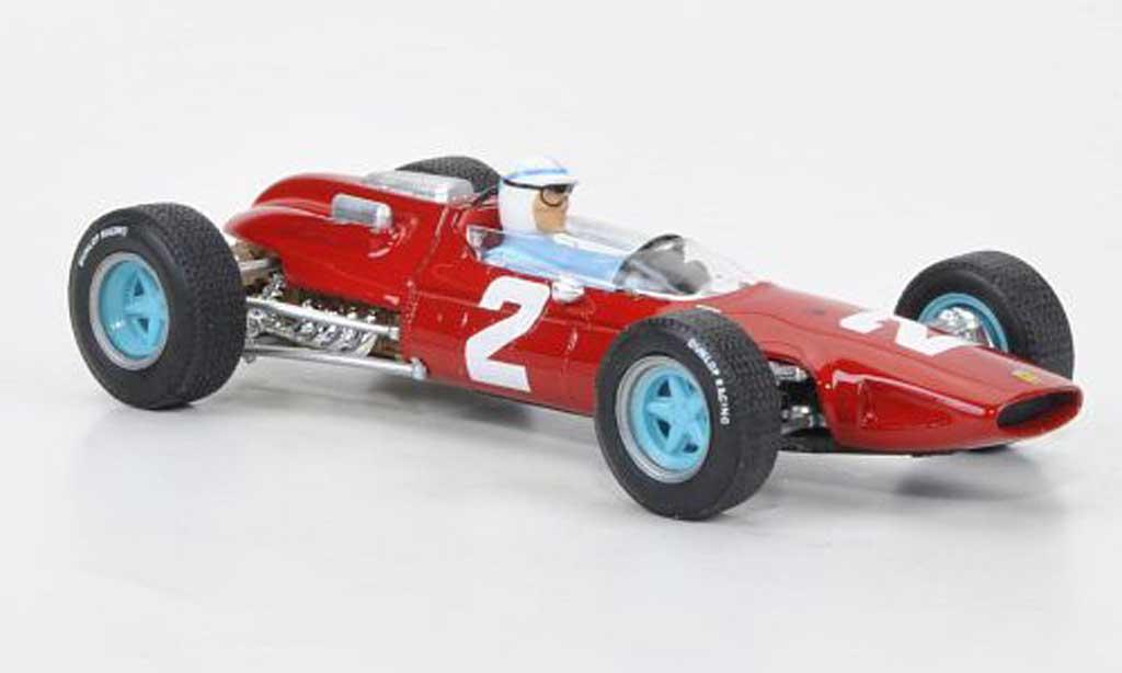 Ferrari 158 1964 1/43 Brumm No.2 J.Surtees GP Italien + Fahrer miniature