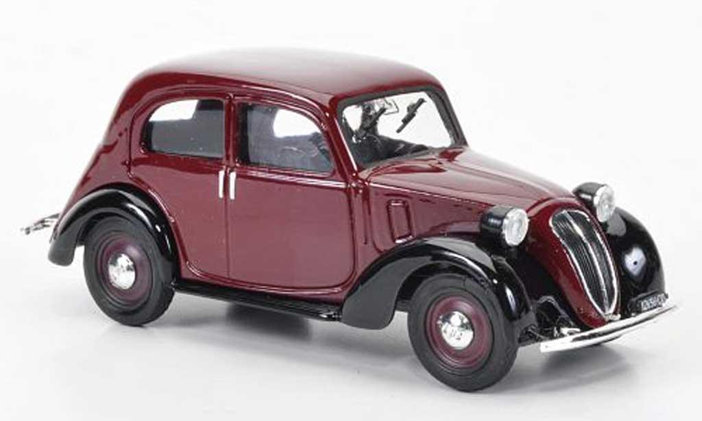 Fiat 1100 1/43 Brumm rougenoire 1937 miniature