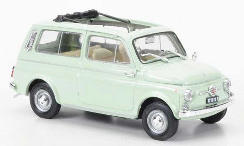 Fiat 500 1/43 Brumm Giardinieragrun 1960 diecast model cars