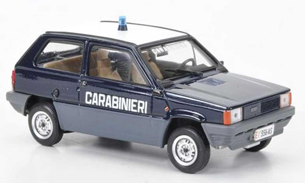Fiat Panda 1/43 Brumm 45 italienische Carabinieri / Polizei 1980 miniature