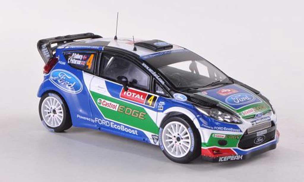 Ford Fiesta WRC 1/43 IXO No.4 Castrol Rally Monte Carlo 2012 P.Solberg/C.Patterson miniature