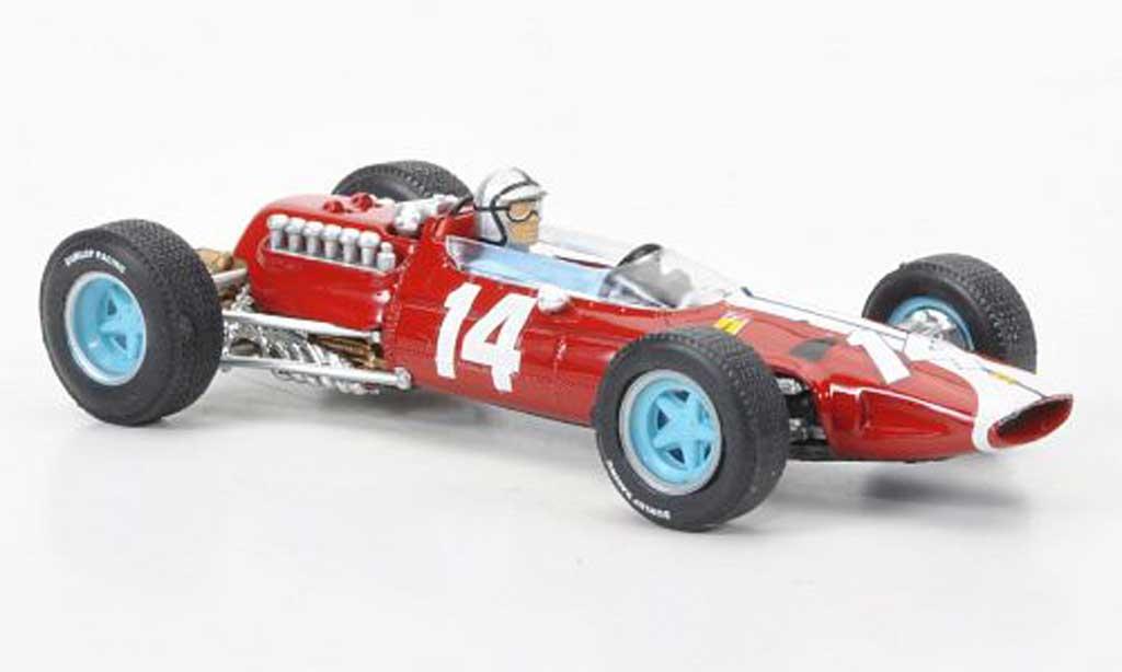 Ferrari 512 1/43 Brumm No.14 Pedro Rodriguez GP USA + Fahrer 1965 miniature