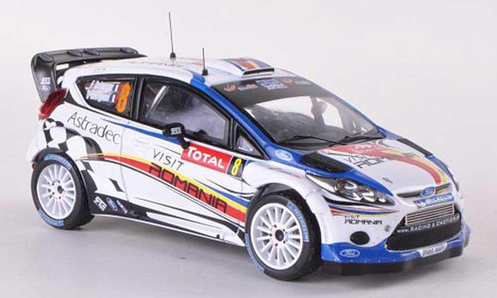Ford Fiesta WRC 1/43 IXO No.8 Rally Monte Carlo 2012 F.Delecour/D.Savignoni miniature