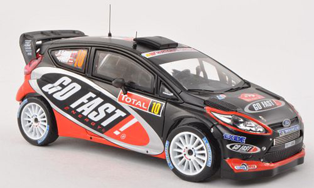 Ford Fiesta WRC 1/43 IXO  No.10 Go Fast! Rally Monte Carlo 2012 H.Solberg/I.Minor miniature