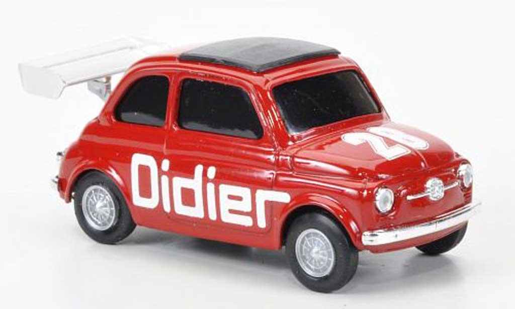 Fiat 500 1/43 Brumm No.28 Didier diecast