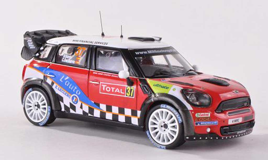 Mini Cooper WRC 1/43 IXO John Works No.37 Rally Monte Carlo 2012 D.Sordo/D.Barrio miniature