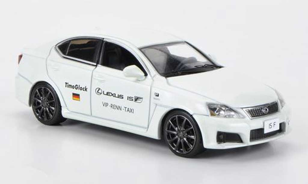 Lexus IS 1/43 J Collection F VIP-Renn-Taxi T.Glock Nurburgring 2009 miniature