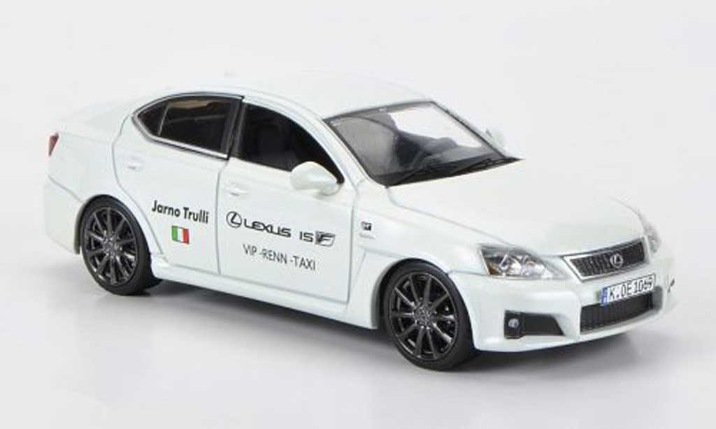 Lexus IS 1/43 J Collection F VIP-Renn-Taxi J.Trulli Nurburgring 2009 miniature