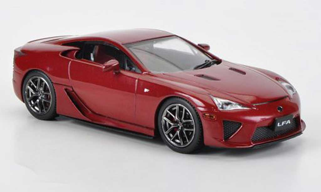 Lexus LFA 1/43 J Collection rouge RHD 2011 miniature
