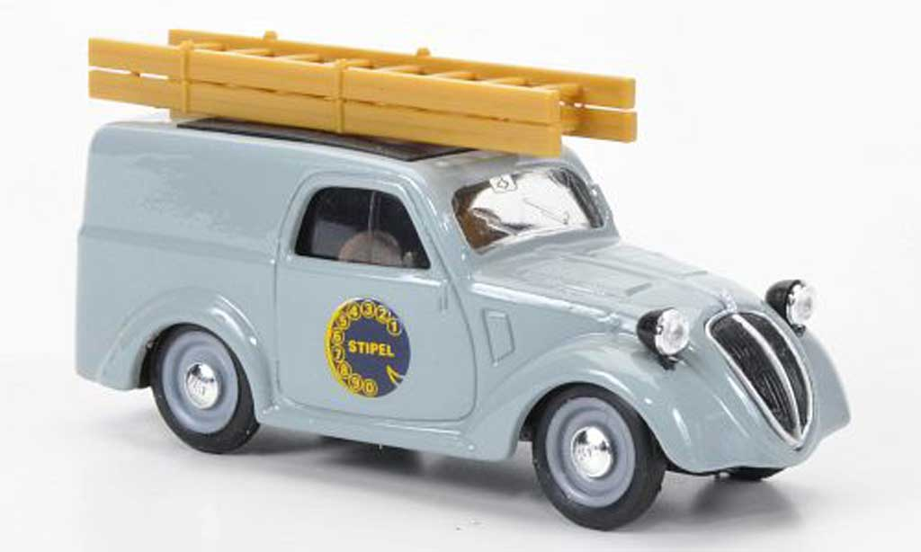 Fiat 500 1/43 Brumm B FurgoncinoTelefon Stipe1946