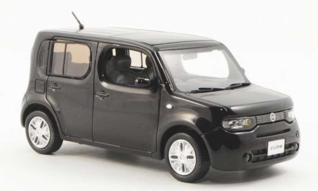 nissan cube miniature 15x braun 2009 j collection 1 43. Black Bedroom Furniture Sets. Home Design Ideas