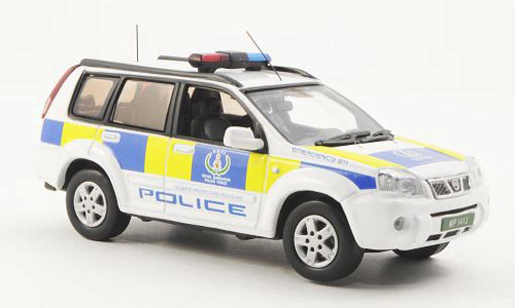 Nissan X Trail 1/43 J Collection Royal Barbados Polizei - Police 2008 miniature