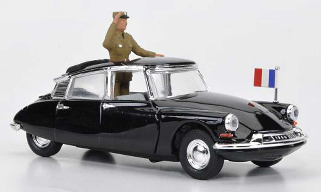 Citroen Ds 19 Miniature General De Gaulle 1962 Rio 1 43