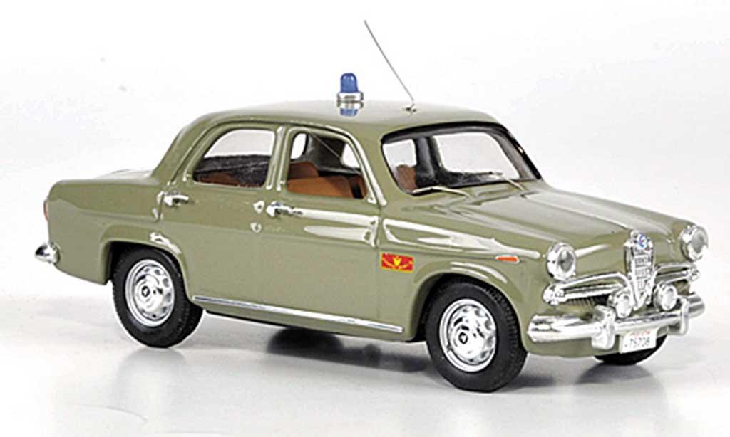 Alfa Romeo Giulietta 1/43 Rio Berlina Reparto Mobile miniature