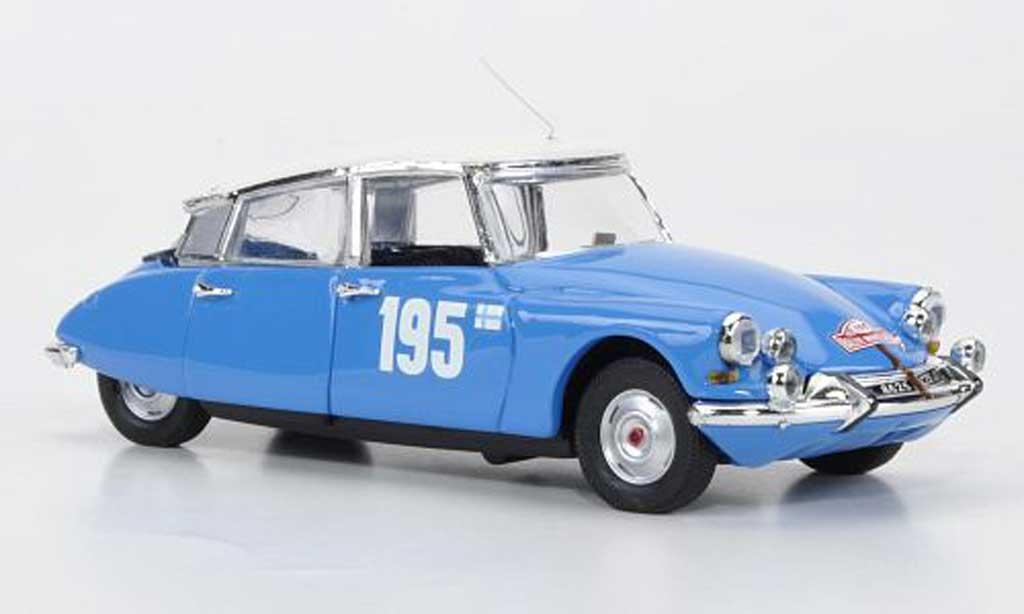 Citroen DS 19 1/43 Rio No.195 Toivonen / Mikander Rally Monte Carlo 1966 miniature