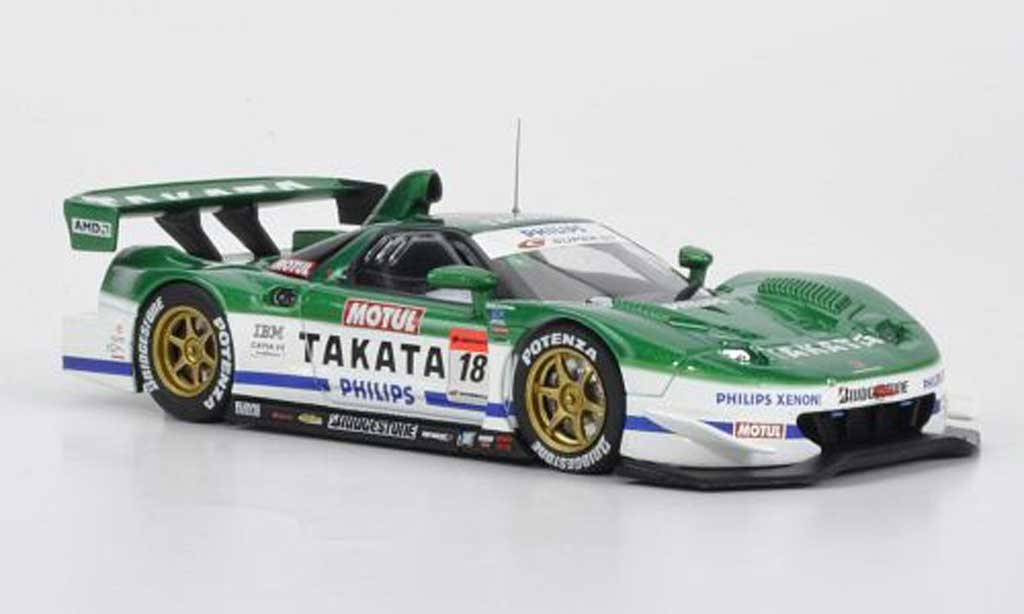 Honda NSX Super GT 1/43 Ebbro No.18 Takata Dome R.Michigami / T.Kogure 500 2007 miniature