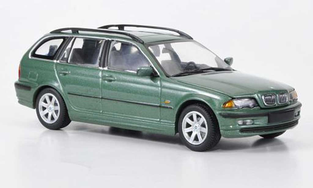 Bmw 323 1/43 Minichamps Touring (E46) verte 1999 miniature