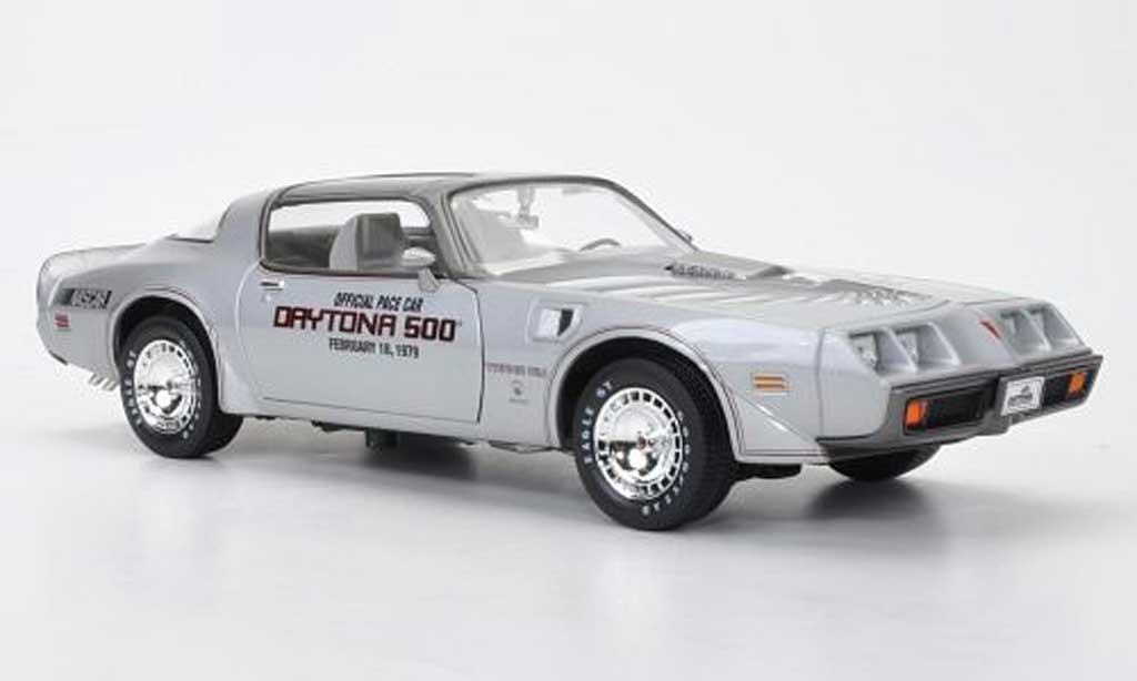 Pontiac Firebird 1979 1/18 Greenlight T/A Official Pace Car Daytona 500 miniature