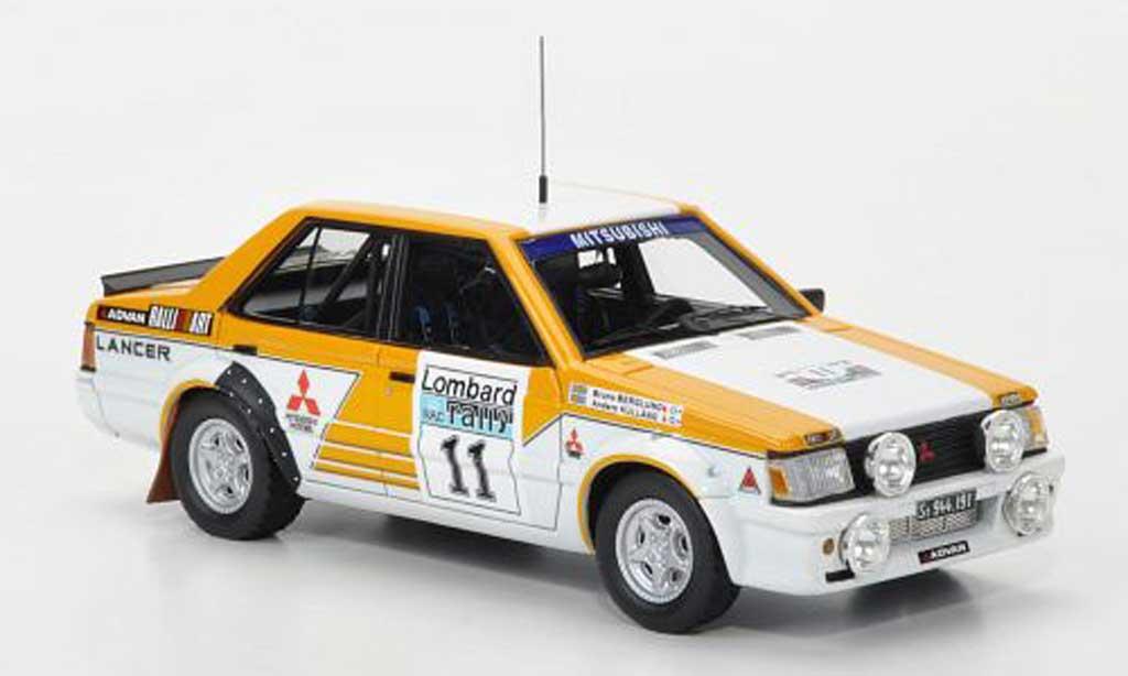 Mitsubishi Lancer 2000 Turbo 1/43 Neo No.11 Team Ralliart RAC Rally limited edition 1981 miniature