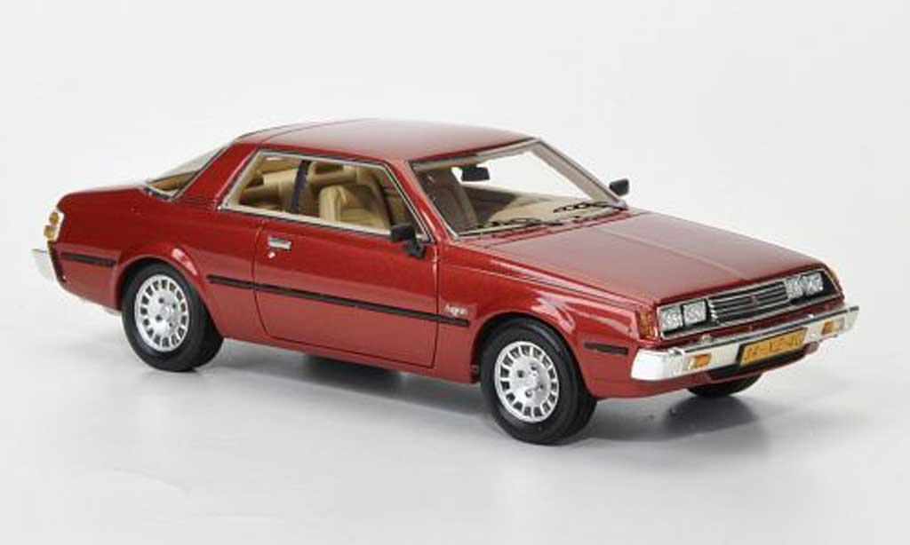 Mitsubishi Sapporo 1/43 Neo MkI Coupe rouge 1982 miniature