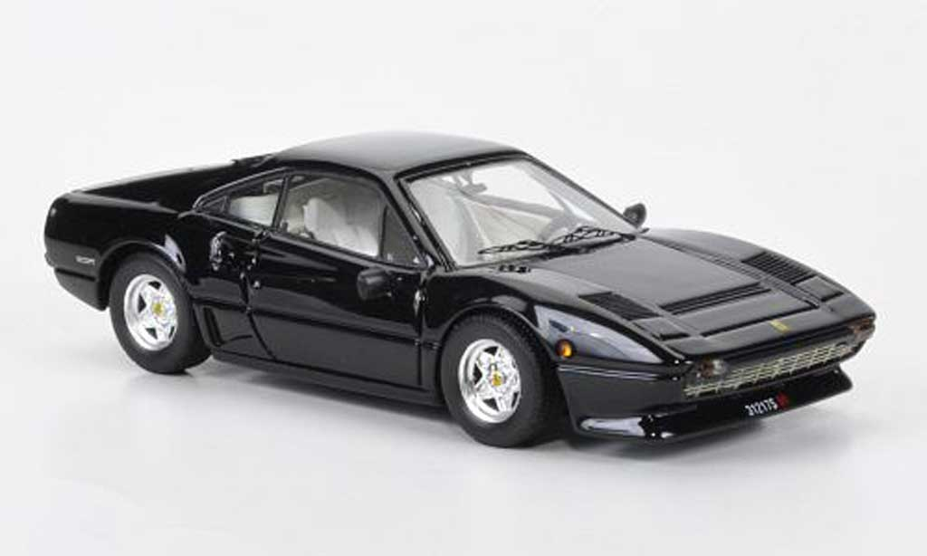 Ferrari 208 GTB 1/43 Best Turbo black 1982 diecast model cars