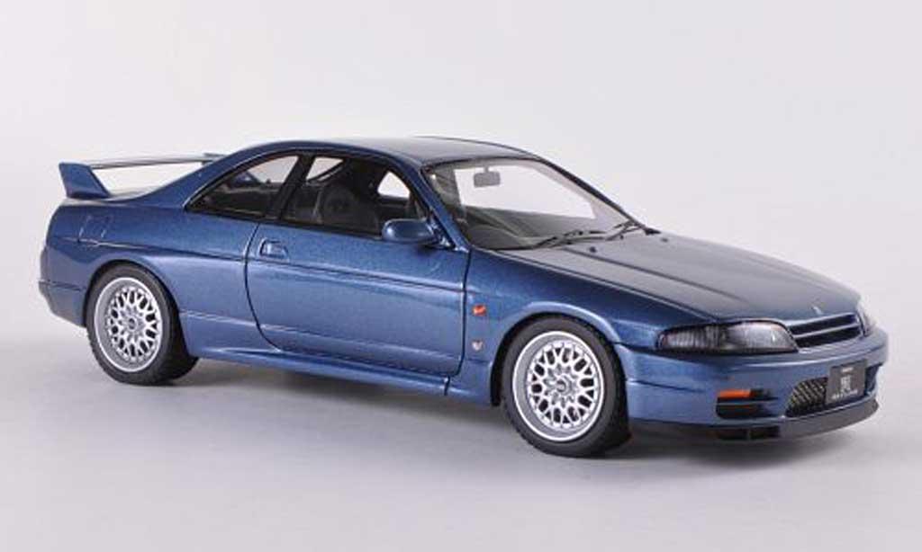 Nissan Skyline R33 1/43 HPI GT-R Prougeotyp bleu RHD  miniature