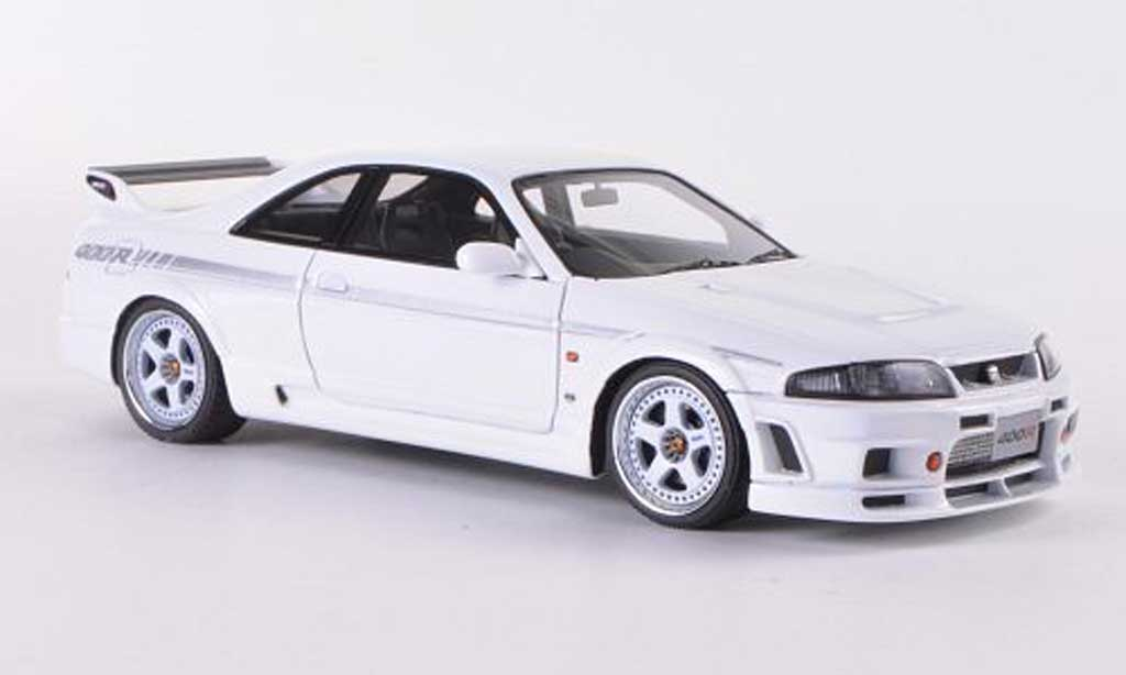 Nissan Skyline R33 1/43 HPI Nismo 400R white RHD diecast model cars