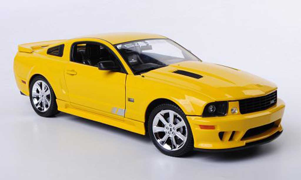 Saleen S281 1/18 Welly E Mustang jaune miniature