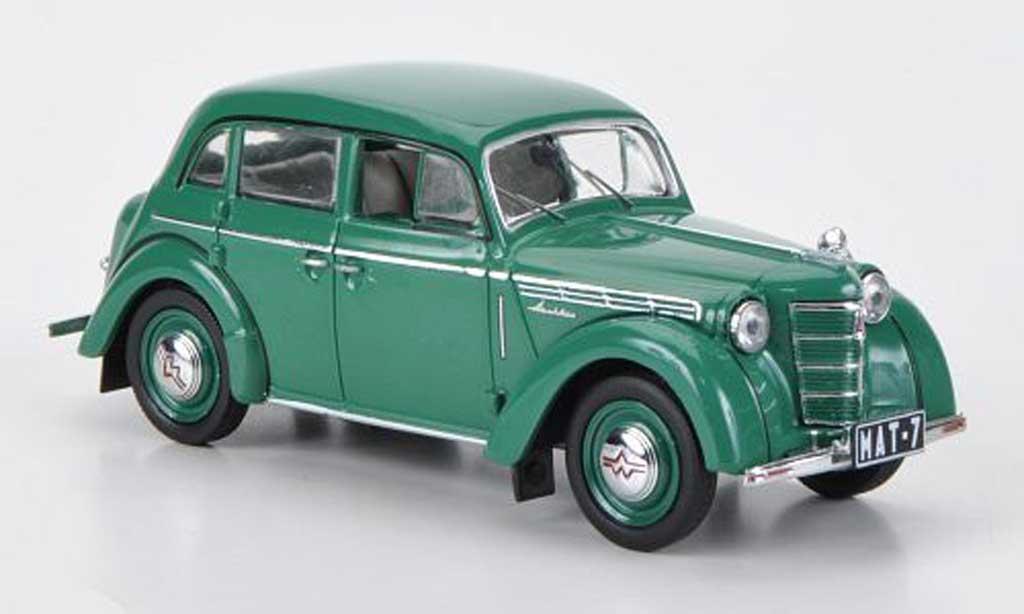 Moskwitsch 401 1/43 IST Models grun 1955 miniature