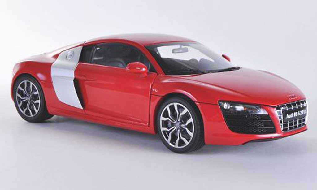 Audi R8 5.2 FSI 1/18 Kyosho V10 quattro red/grey diecast model cars