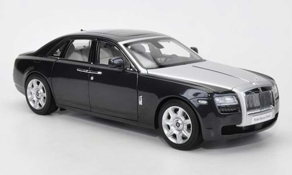 Rolls Royce Ghost SWB 1/18 Kyosho (H22) grise/argent? LHD 2011