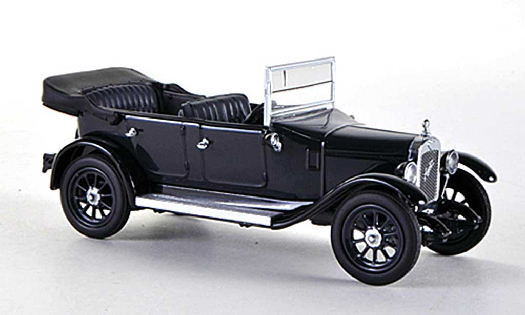 Austin Heavy Twelve 1/43 Oxford bleu/noire RHD miniature