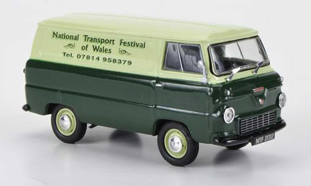 Ford 400E 1/43 Oxford Van National Transport Festival of Wales miniature