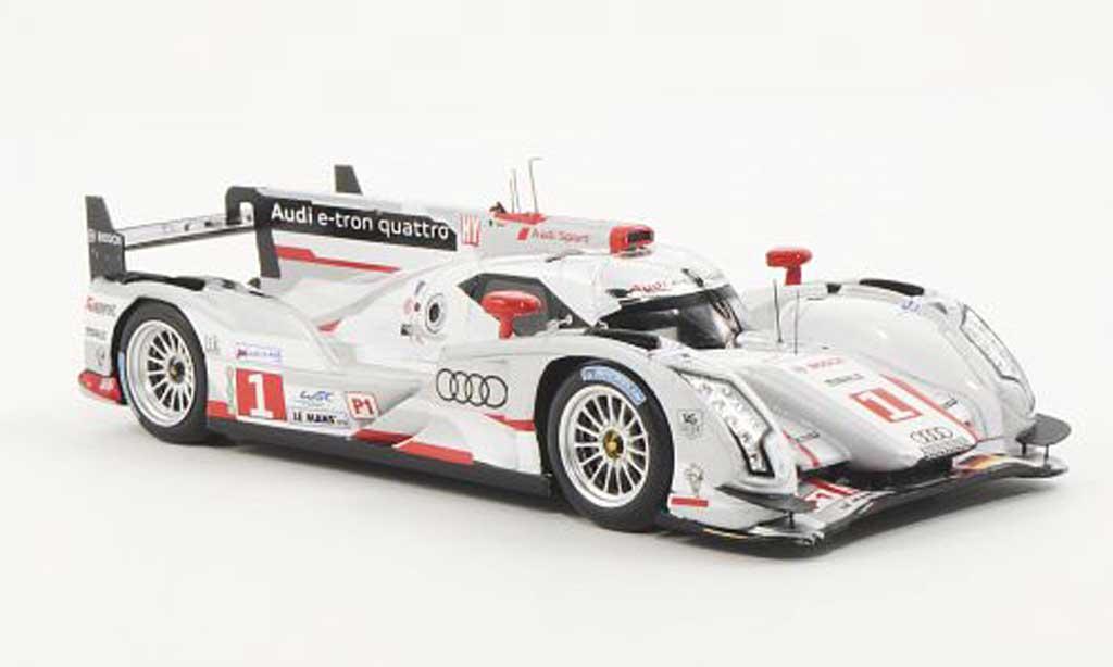 Audi R18 e-tron 1/43 Spark quattro No.1 Team Joest M.Fassler / A.Lotterer / B.Treluyer 24h Le Mans 2012 miniature