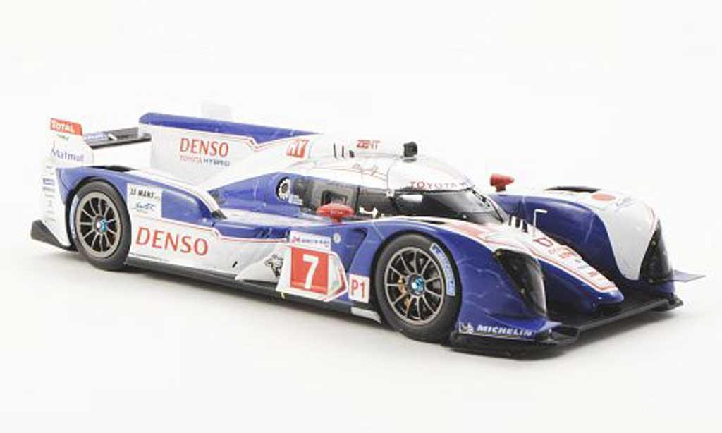 Toyota TS030 1/43 Spark Hybrid No.7 Racing 24h Le Mans 2012 N.Lapiere/K.Nakajima/A.Wurz miniature