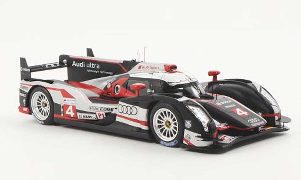 Audi R18 2012 1/43 Spark 2012 ultra No.4 Sport North America M.Bonanomi / O.Jarvis / M.Rockenfeller 24h Le Mans 2012 miniature