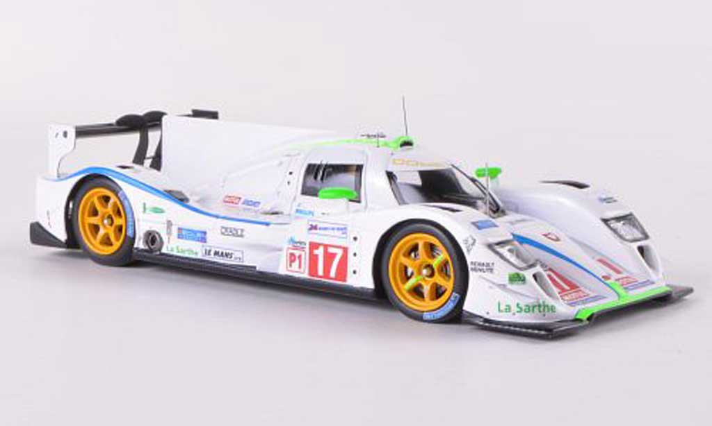 Dome S102 2012 1/43 Spark 5 Judd No.17 Team Pescarolo S.Ara / S.Bourdais / N.Minassian 24h Le Mans miniature
