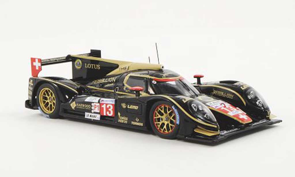 Lola B12 Toyota 1/43 Spark /80 No.13 Rebellion Racing A.Belicchi / J.Bleekemolen / H.Primat 24h Le Mans 2012 miniature