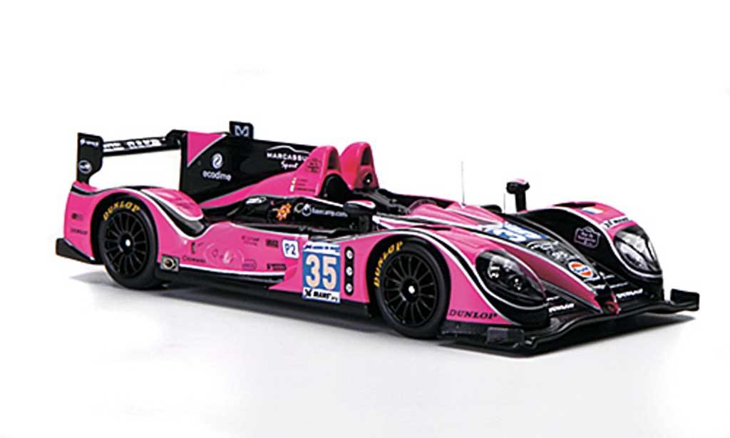 Morgan Nissan 1/43 Spark No.35 Oak Racing 24h Le Mans 2012 diecast model cars
