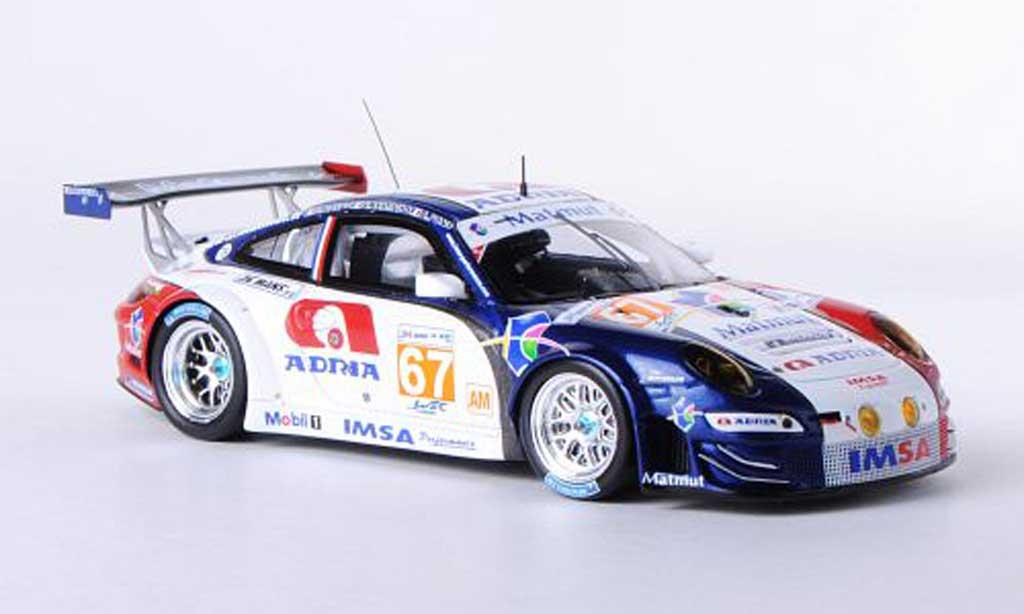 Porsche 997 RSR 2012 1/43 Spark No.67 IMSA Performance Matmut 24h Le Mans N.Armindo/R.Narac/A.Pons miniature