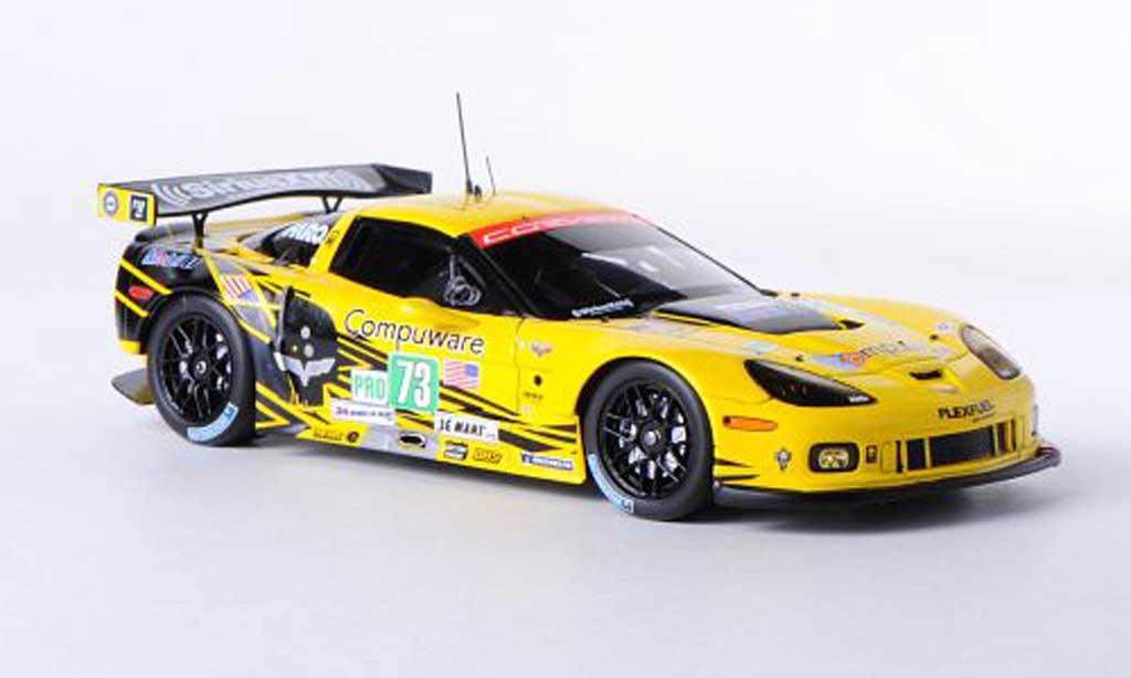Chevrolet Corvette C6 1/43 Spark C6 ZR1 No.73 Racing 24h Le Mans 2012 A.Garcia/J.Magnussen/J.Taylor miniature