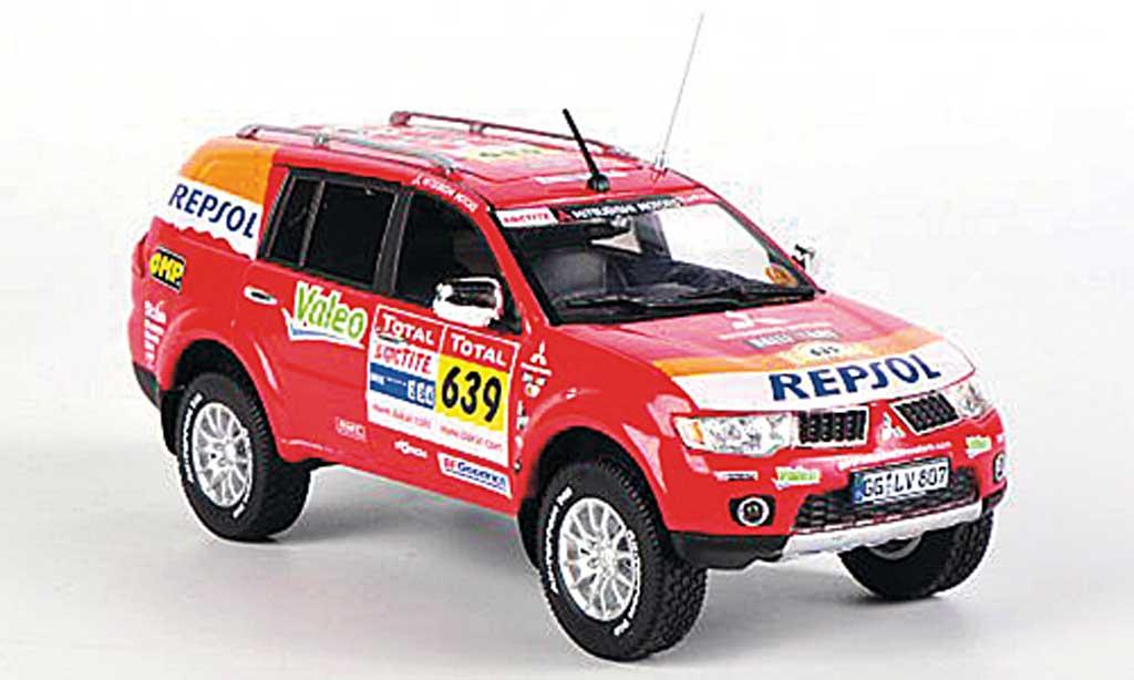 Mitsubishi Pajero 1/43 Vitesse Sport Dakar Team Service Car Rally Dakar 2009 miniature