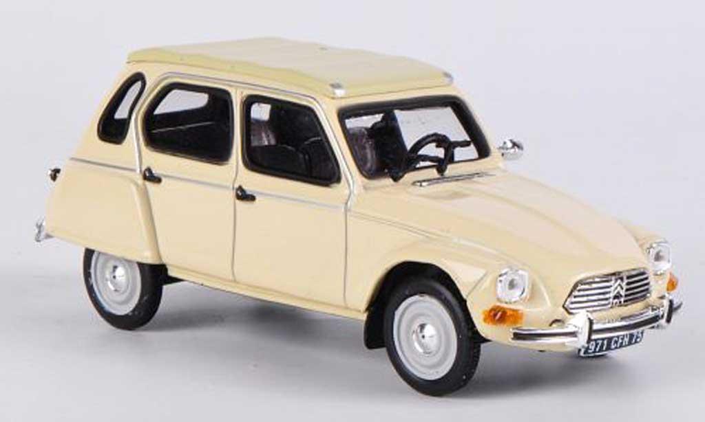 Citroen Dyane 1/43 Vitesse 6 beige miniature