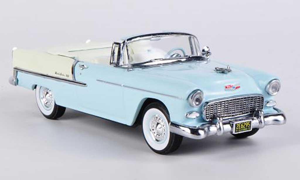 Chevrolet Bel Air 1955 1/43 Vitesse Convertible bleu miniature
