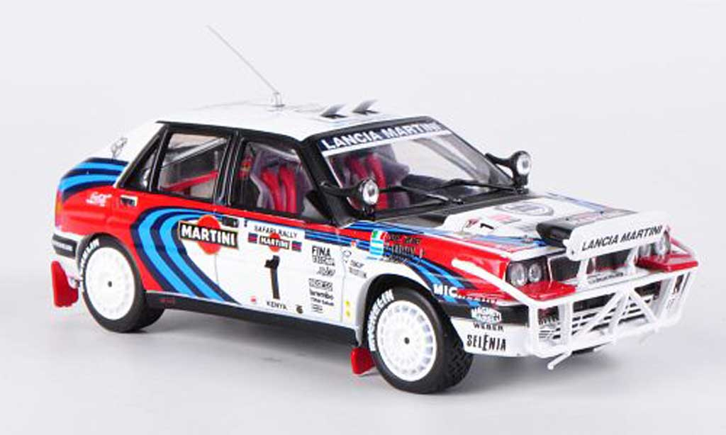 Lancia Delta HF Integrale 1/43 Vitesse 16v No.1 3rd Safari Rally Kenia 1991 J.Recalde/M.Christie miniature