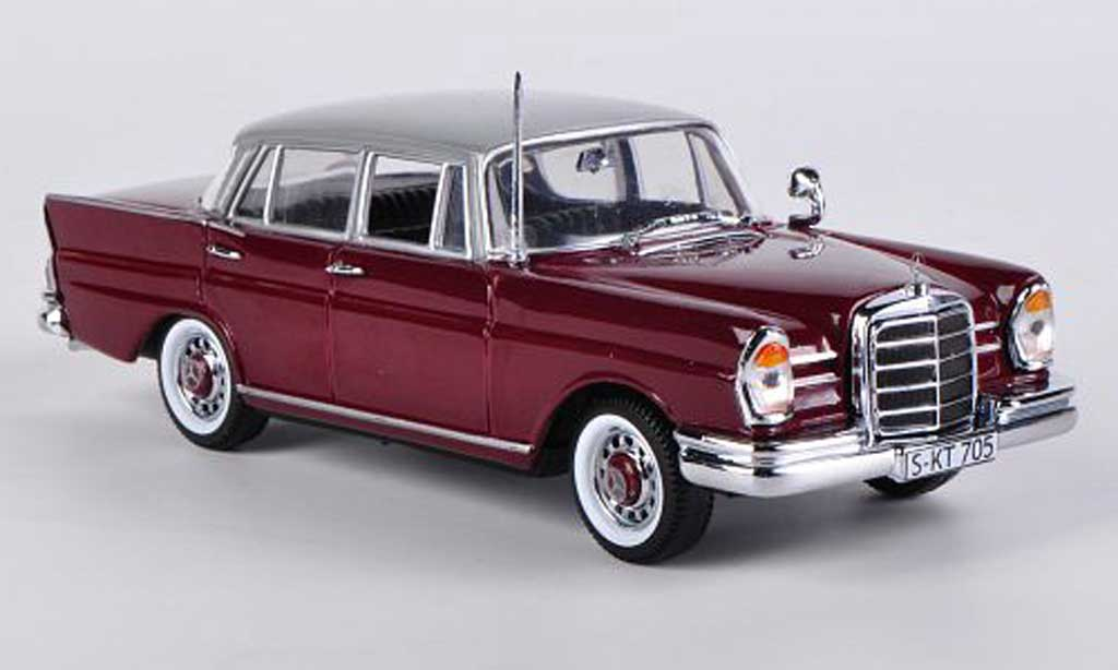 Mercedes 220 SE 1/43 Vitesse rouge miniature