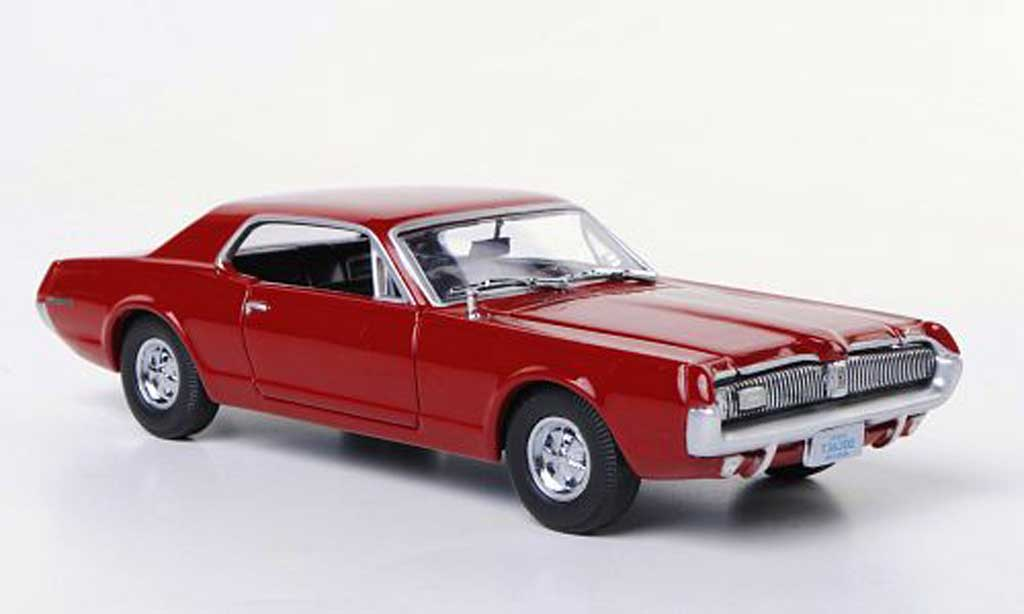 Mercury Cougar 1/43 Vitesse rouge 1967 miniature